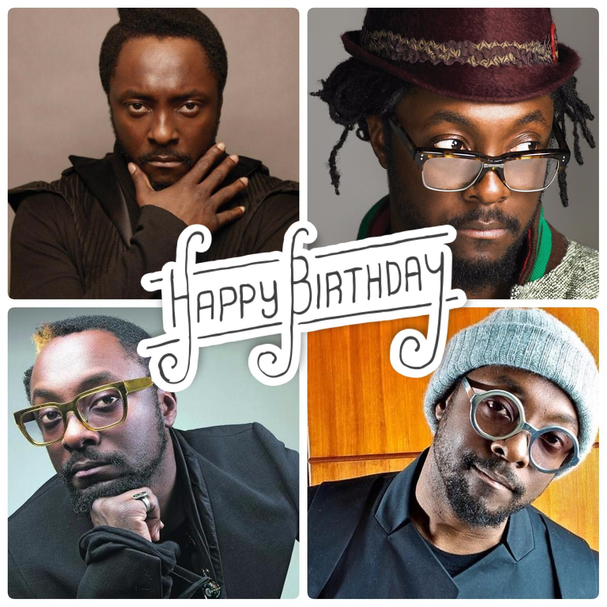 It\s Will I Am\s birthday today! Help us wish him a very Happy Birthday :)