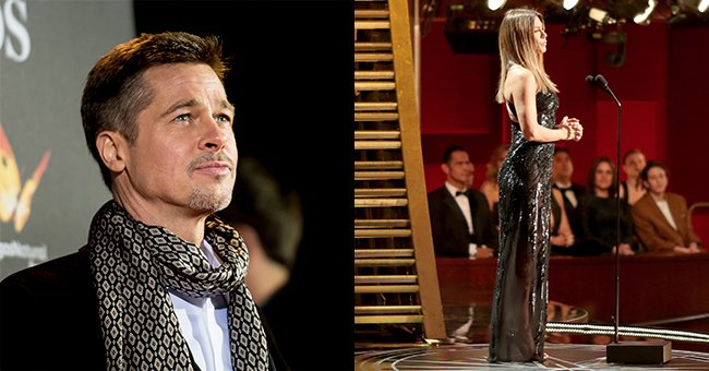 Ohhh. So NOW we know why Brad Pitt skipped this year's Oscars...