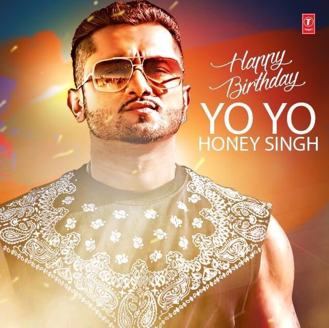 Happy Birthday Bro Yo! Yo! Honey Singh Rab Chardi kla ch rakhe kardeo wish sare bai nu