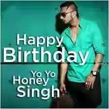 Happy Birthday yo singh