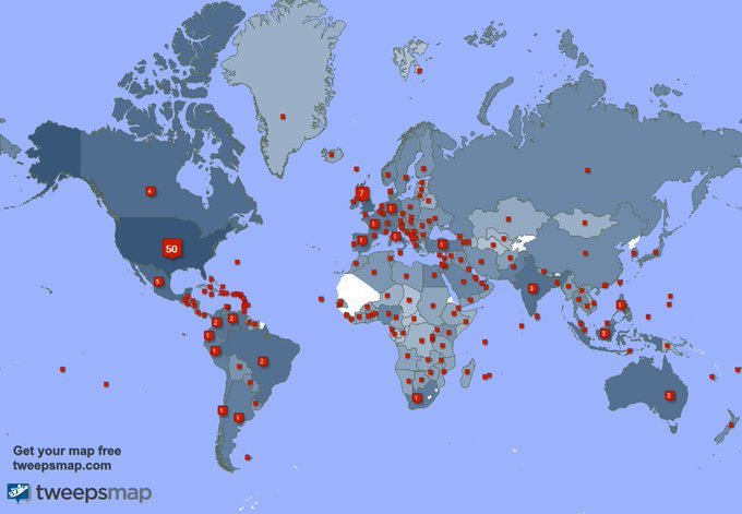 I have 402 new followers from India, Chile, and more last week. See https://t.co/Rw9AAvUybD https://t