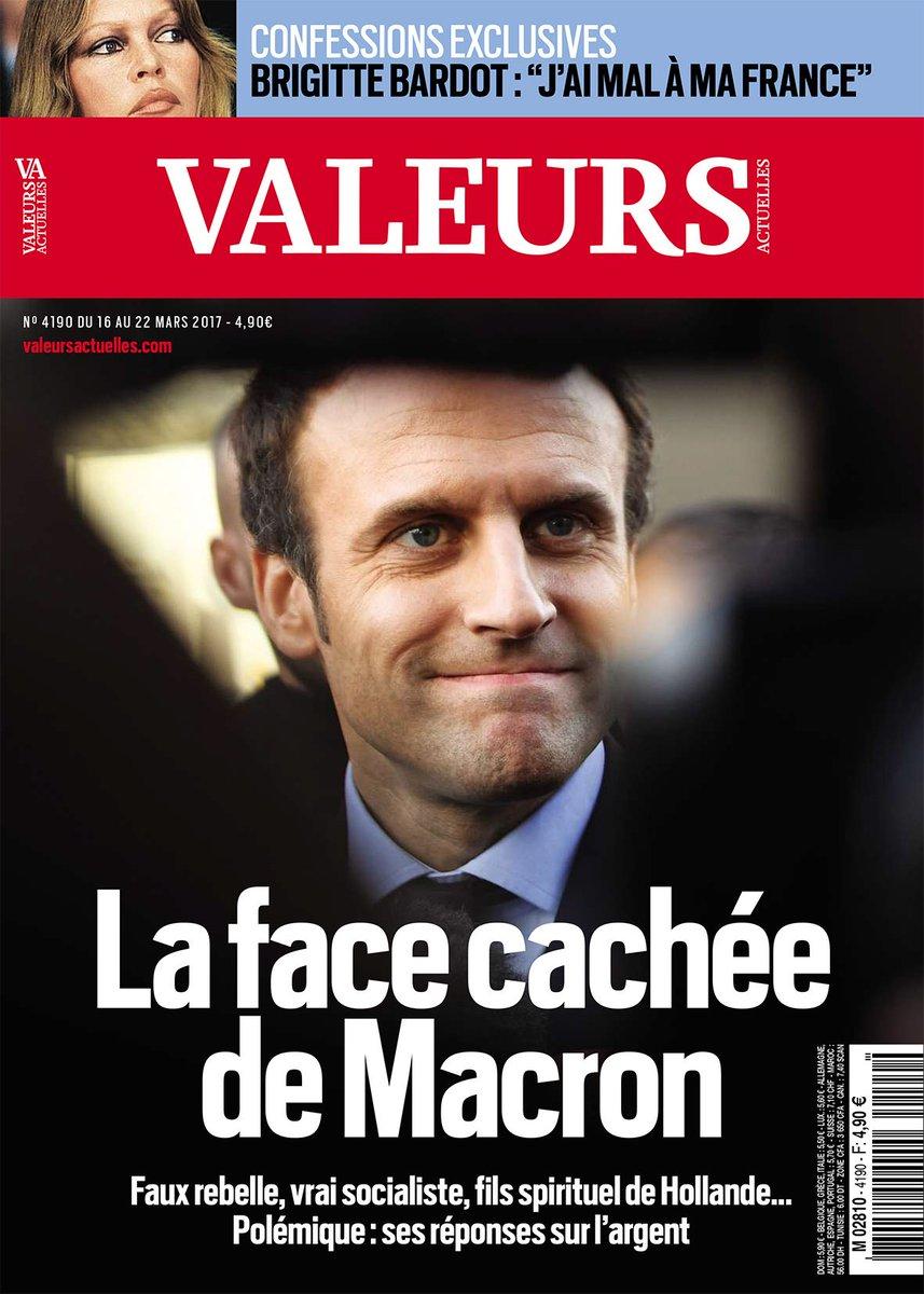 Dans VA cette semaine : Faux rebelle, vrai socialiste, fils spirituel de Hollande... La face cachée de Macron >> https://t.co/FafrQUYjfE