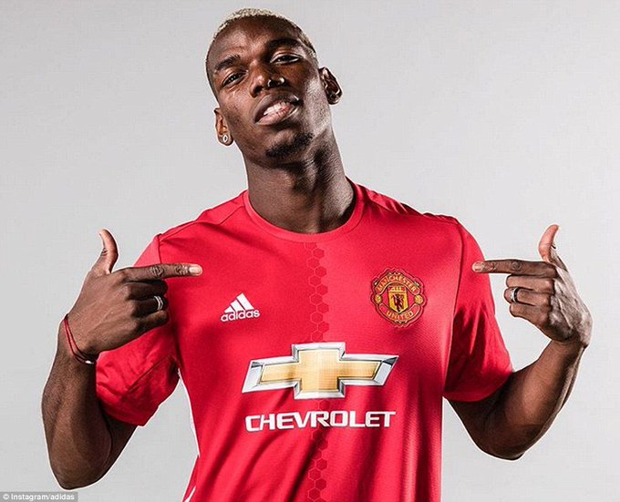 Happy Birthday Paul Pogba. Wishing You a great year Ahead
