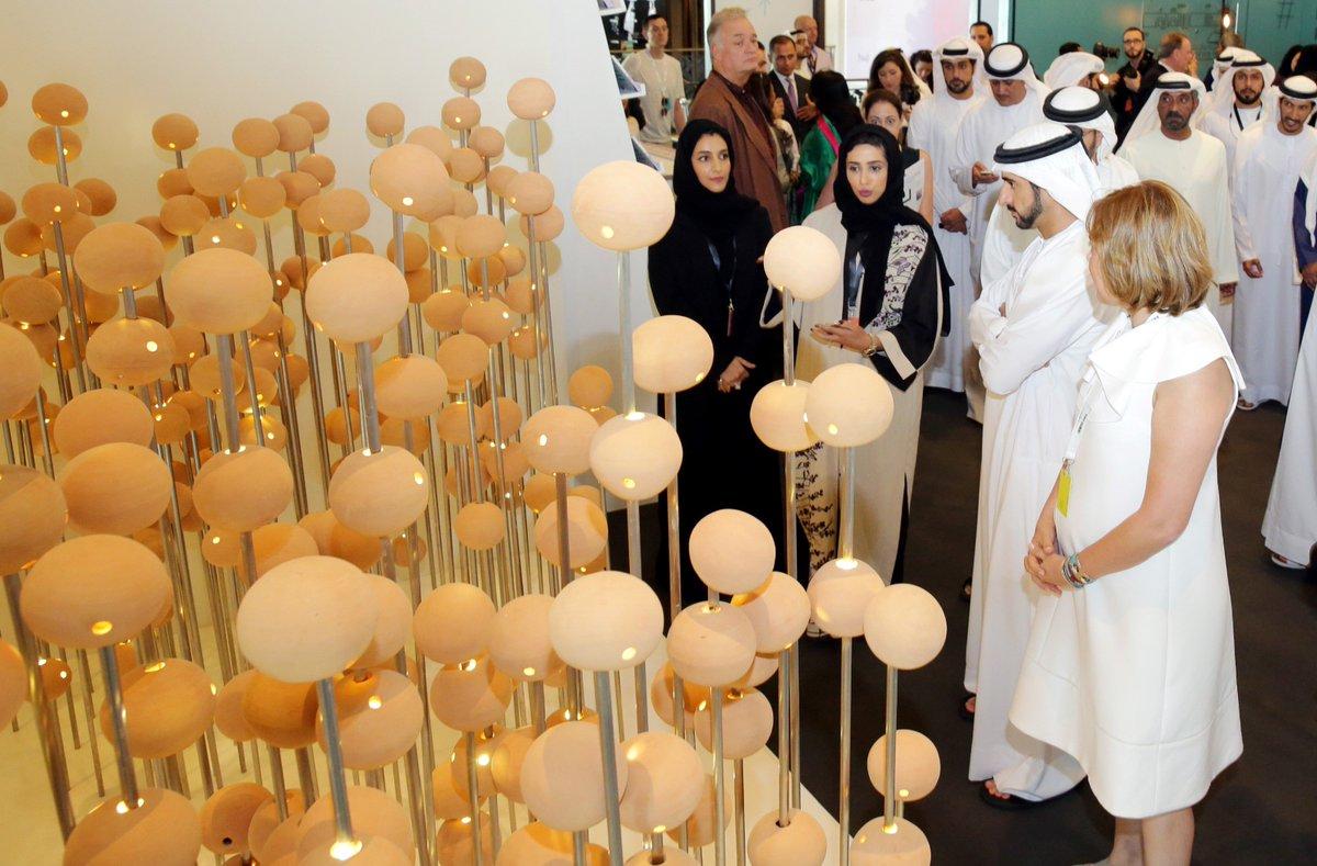 سمو الشيخ حمدان بن محمد بن راشد آل مكتوم يزور منصة دبي للثقافة في افتتاحه لمعرض آرت دبي يوم أمس https://t.co/3VcdhYiOJc