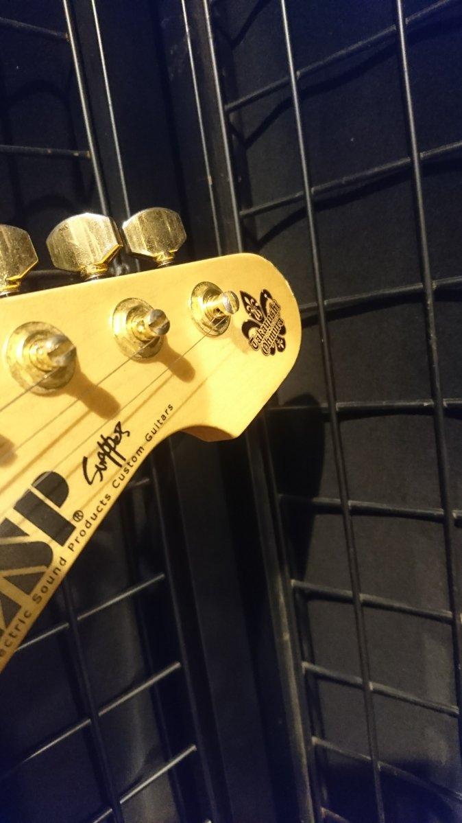 【実機展示会3/26まで!】[-CERBERUS-]を発表された #大村孝佳 氏が実際に使用されているギターを展示致しま
