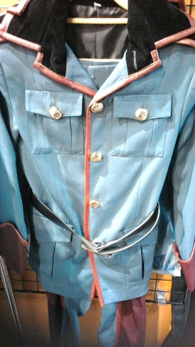 曇天に笑う、より犲の隊服衣装が入荷致しました(ノ´∀`*)コストモ製です✨ #kbooks #曇天