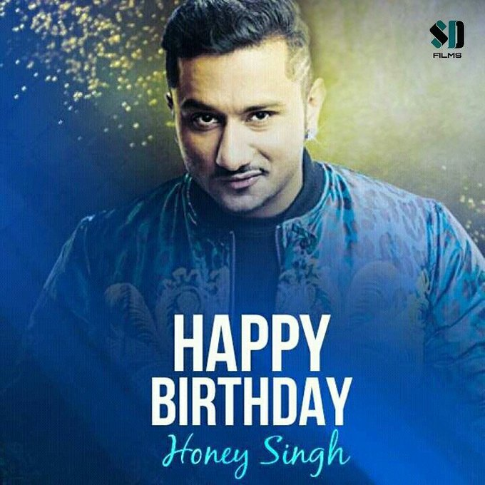 Wishes A very happy birthday to the rocking hero of music Industry  Mr.YO YO Honey Singh..