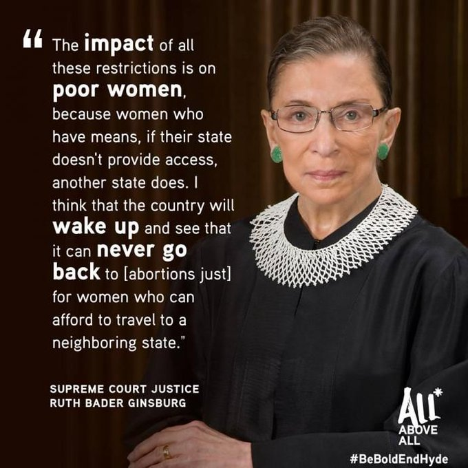 Today is Ruth Bader Ginsburg\s birthday! Happy Birthday, RBG!!!