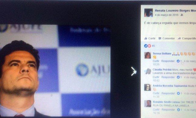 Resultado de imagem para Empresária que pediu para Moro 'limpar país' é alvo da Lava Jato
