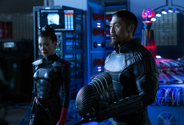 A happy 40th birthday to Brian Tee, the latest cinematic incarnation of the Turtles\ greatest villain, Shredder.