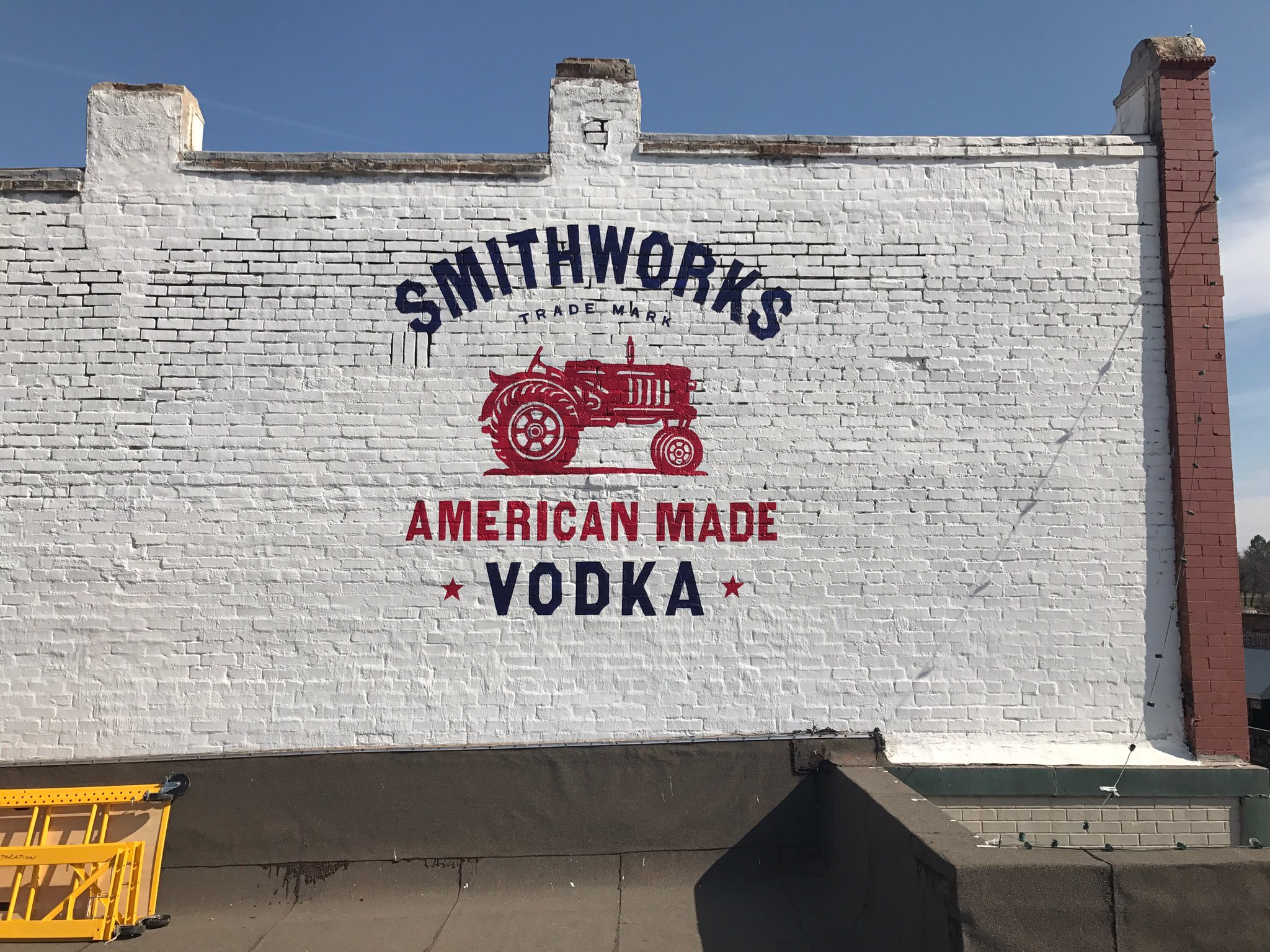 Decided to spruce up the spot in Tishomingo a little bit... what do y'all think?! @SmithworksVodka https://t.co/H2lmR2JTzv