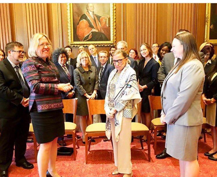 Happy birthday to Justice Ruth Bader Ginsburg.