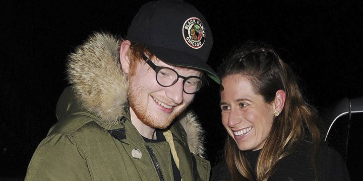 Ed Sheeran's first date with girlfriend was Taylor Swift's July 4 party