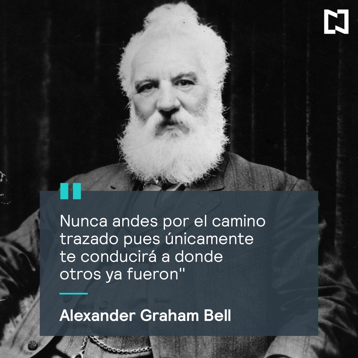 Hoy recordamos al científico e inventor británico alexander graham ...