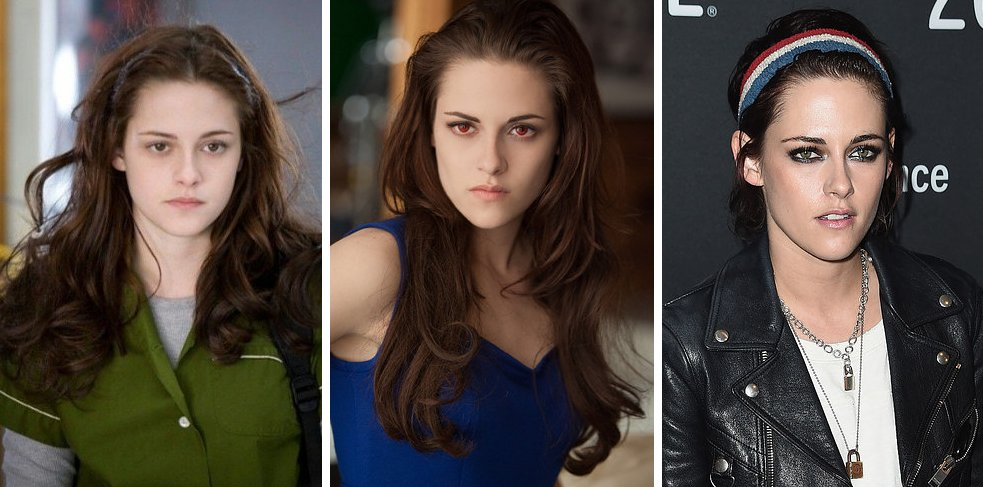 the �twilight� cast in the first movie last movie and