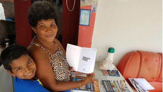 The 11-year-old Brazilian boy teaching his mother to read