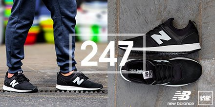 Just dropped: @newbalance​ #247 Classic These fresh new kicks will keep up with your hectic 24/7 lifestyle. https://t.co/Q3ipObM7nT