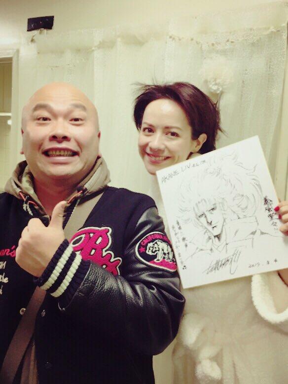 アニメ『義風堂々』の劇伴でお世話になった、漫画家の武村勇治先生が、観劇して下さいました。色紙まで頂き、なんて幸せ…✨どう