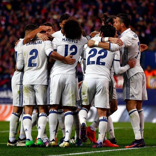 VAMOS EQUIPO. HALA MADRID ���� https://t.co/Pnvi8Q4PO0
