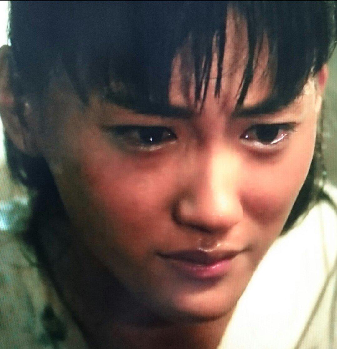 ④泣いてるバルサ綾瀬さん愛らしいですおやすみなさい#精霊の守り人#綾瀬はるか#バルサ#可愛い