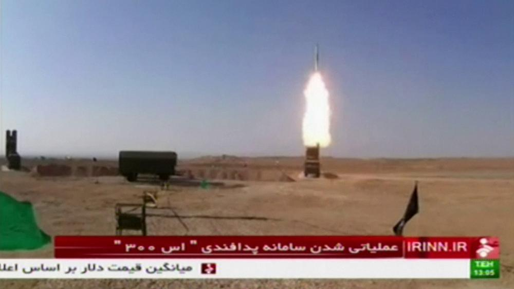 Iran tests Russian-made air defence system