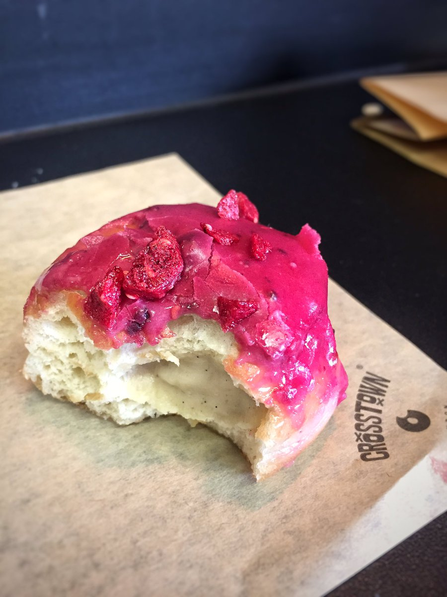 Crosstown Doughnuts London's Best American Food with Deliveroo