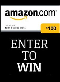 Win a $100.00 Amazon Gift Card freebies contests Sweepstakes