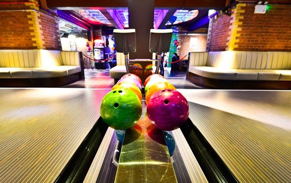 Namco Funscape County Hall London's best bowling alleys