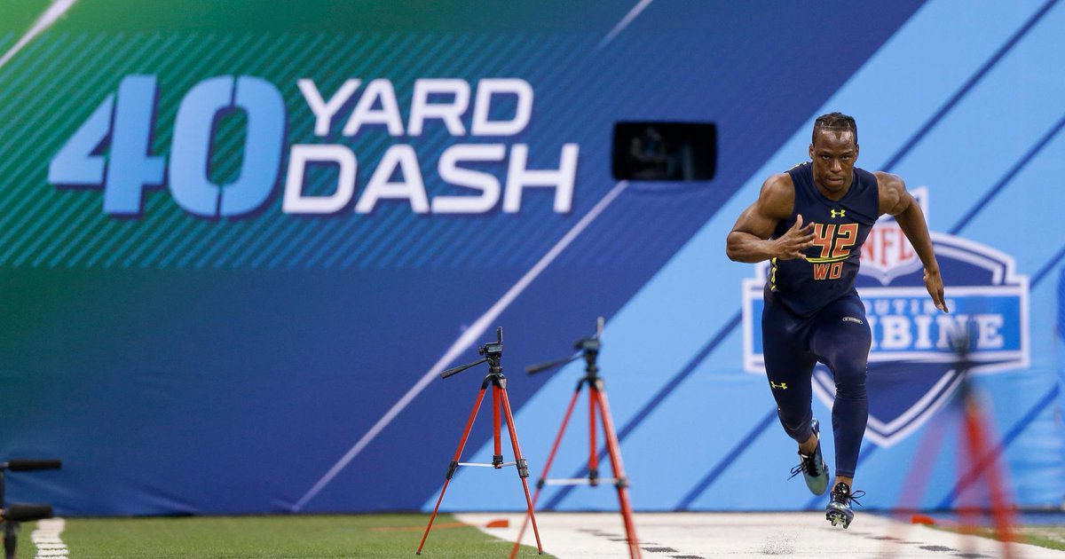 The 40 Yard Dash Was The Main Event On Day 4 Of The