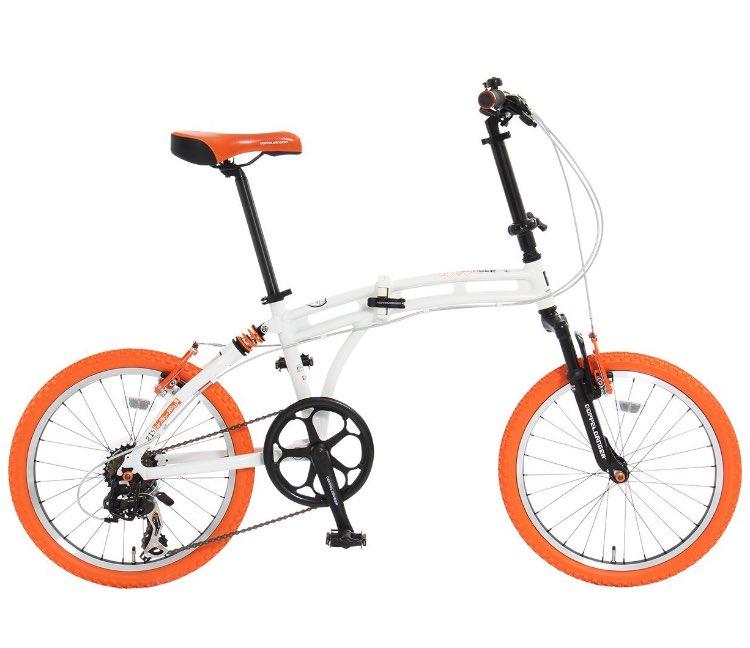 ドッペルギャンガーのこの時代を先取りしすぎたカラーのミニベロほんと欲しい溢れ出るドリキャス感がたまらないw#自転車 #ド