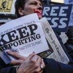 Media struggles for balance in covering hostile Trump