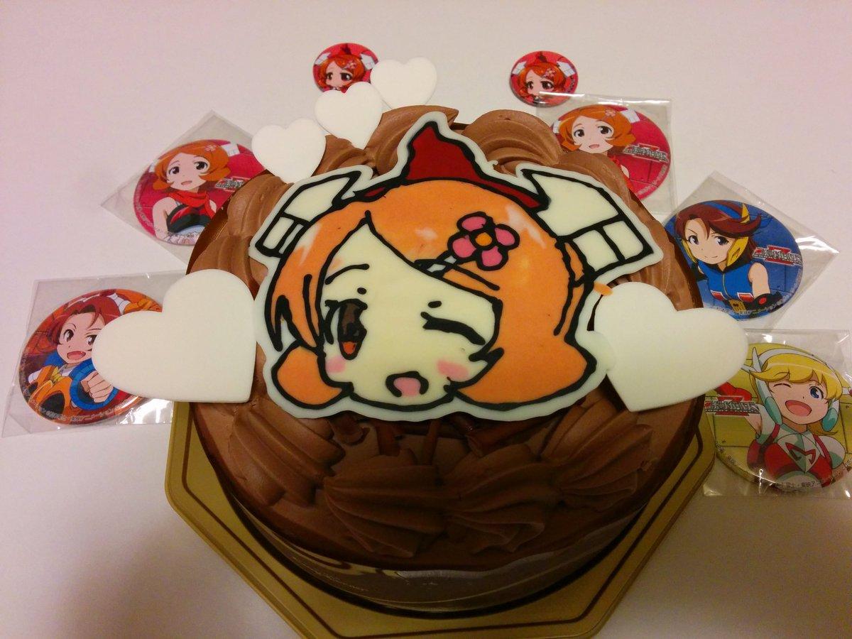ダンダンお誕生日おめでとう!!今日は東映ロボットガールズのダンダンのお誕生日!チームTのDVDBOXがいっぱい来たから次