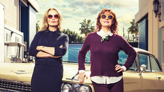 Inside Jessica Lange and @SusanSarandon's new FX series, Feud, which premieres tonight