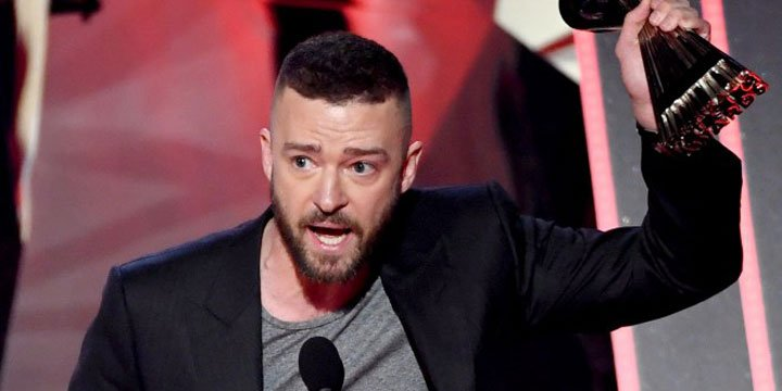 Watch Justin Timberlake's inspiring speech to fans after iHeartAwards win