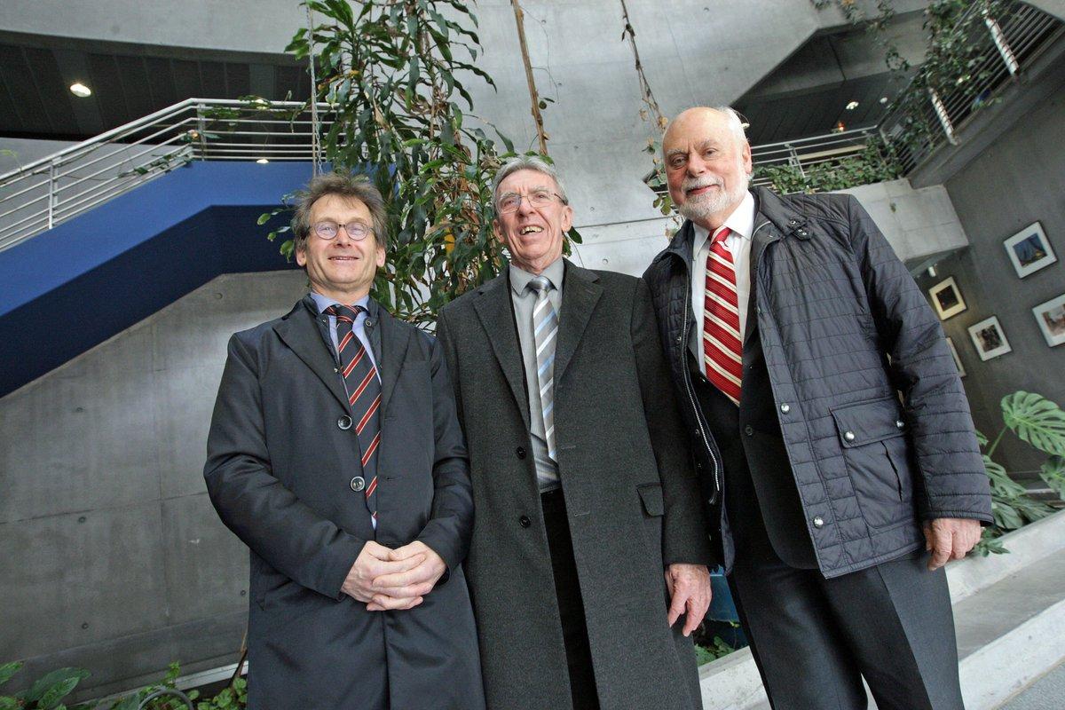 #SCIENCES Trois #Nobel réunis à #Strasbourg https://t.co/UL1R1hwvfQ
