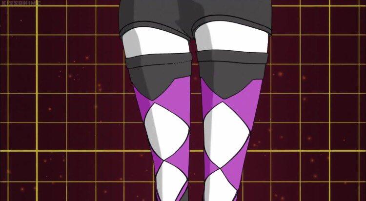 キュアマカロンがセクシーと話題ですがここでヒーローバンクのシャドーキティ(秋内ハナ)の変身シーンをば。その2 #niti