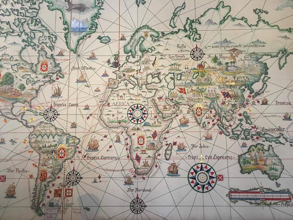 test ツイッターメディア - ポルトガルが調子に乗っていた大航海時代の地図。 #ポルトガル https://t.co/cP3WVCgcHf