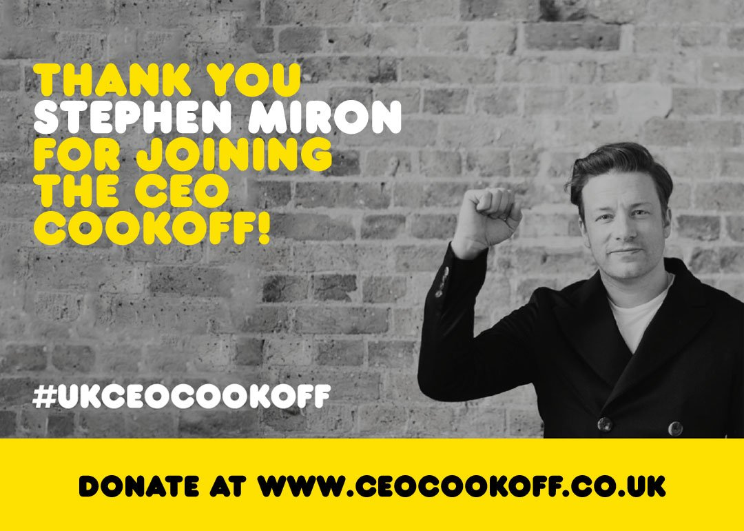 So excited to be working with @global @StephenMiron @thisisheart for the #UKCEOCookOff ! https://t.co/SlbtE0zwqg https://t.co/YbjCMFXoA9