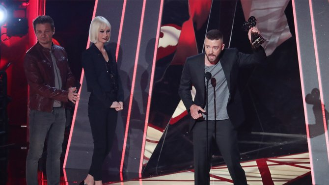 Justin Timberlake gives inspiring speech to LGBTQ youth at the