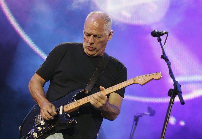 David Gilmour turns 71 today! Happy birthday, David!