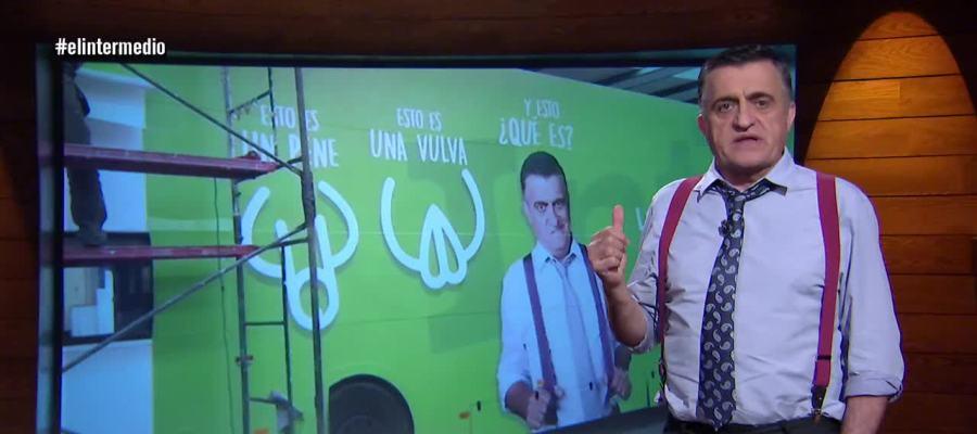 VÍDEO   Amigos, el autobús del respeto hoy para en... ¡Valencia! #hazmereír #elintermedio