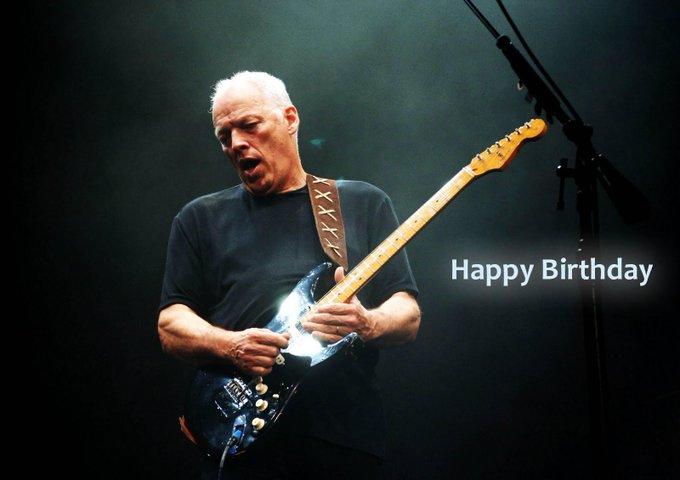 Happy Birthday Mr. David Gilmour