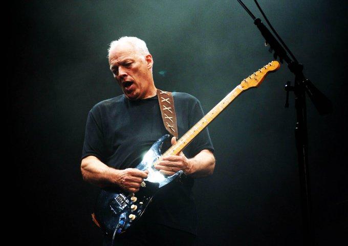From Italia  Happy Birthday Mister David Gilmour