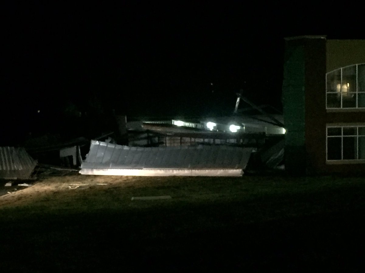 Reports Of Damage At Storage Mart Near 151st And Antioch In Overland Park,  KS