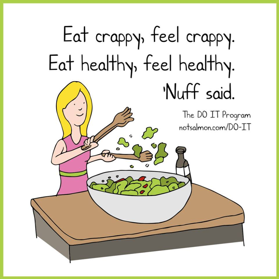Diet eating quotes