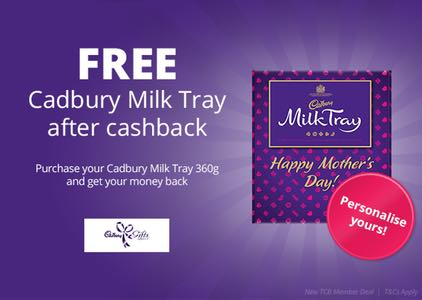 Free Cadbury Milk Tray - free freebies freestuff latestfreestuff