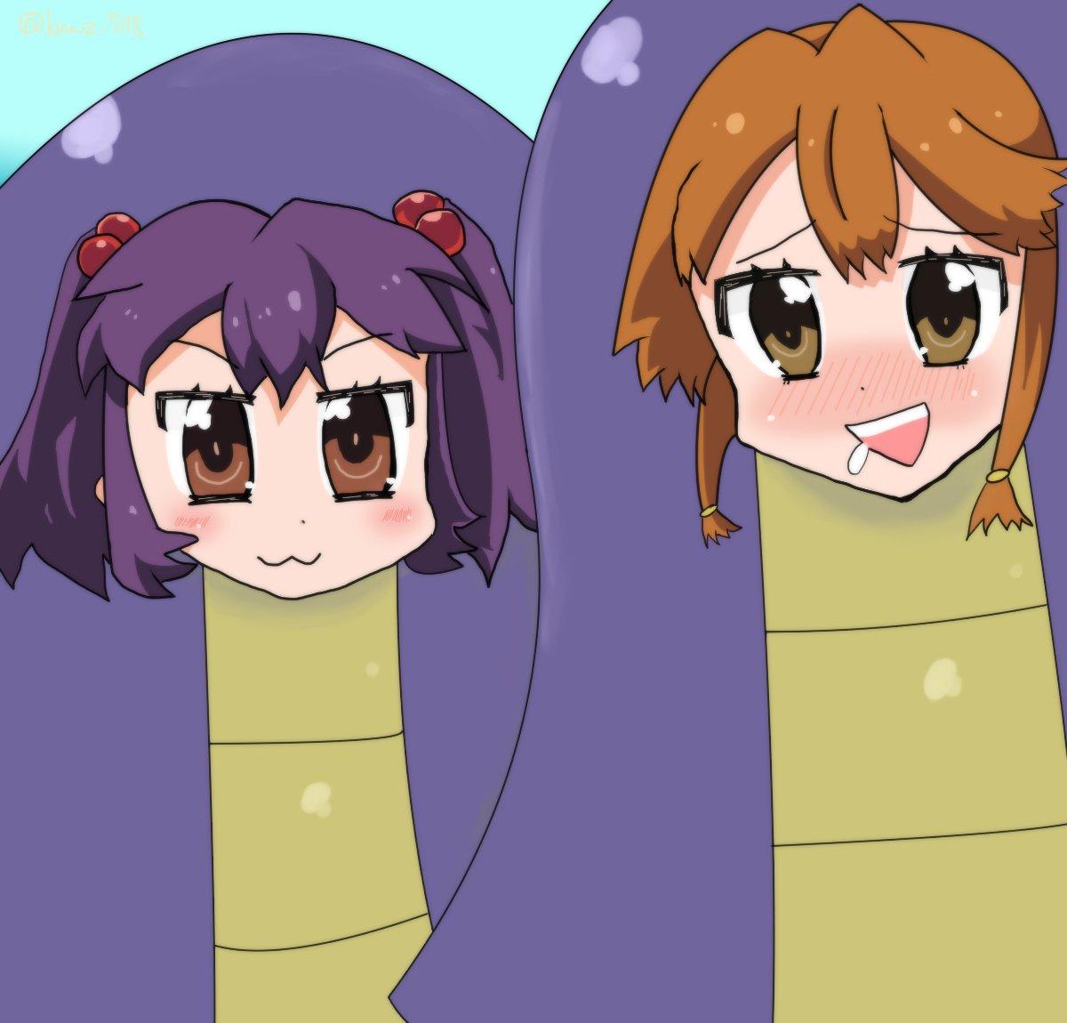 不思議なソメラちゃんより天童雫と松嶋あい