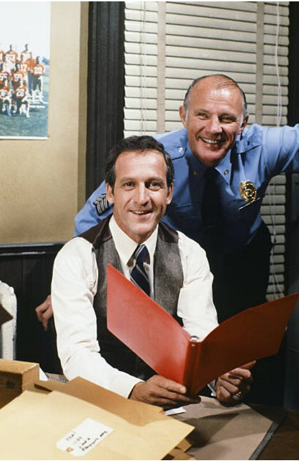 Happy birthday Daniel J. Travanti With his Hill Street Blues co-star Michael Conrad Man, I loved that show!