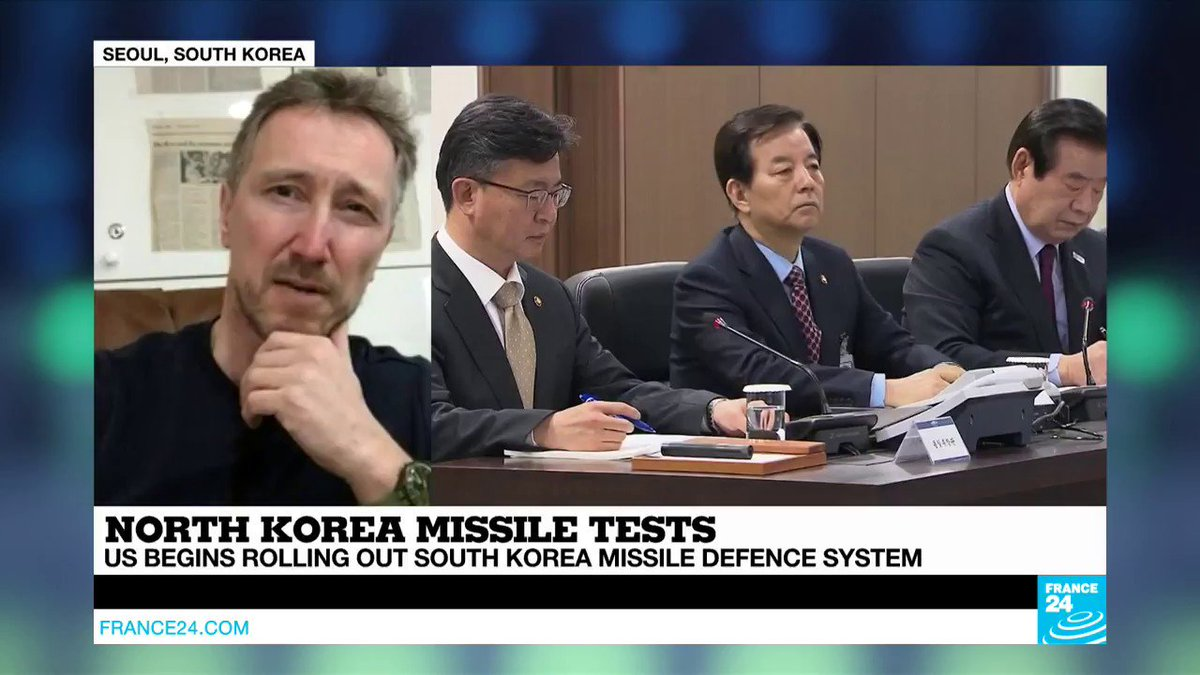 """VIDEO -  US Missile Defence System: """"South Korea is like a shrimp caught between 2 whales"""""""