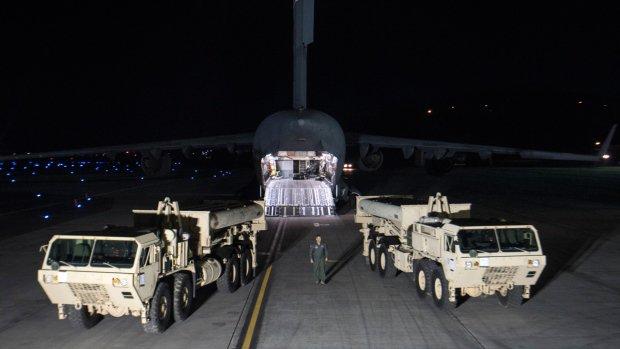 U.S. deploys missile defence system in South Korea